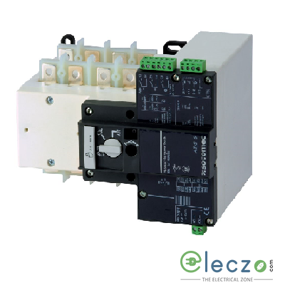 Socomec ATyS S Remotely Operated Transfer Switch (RTSE) 40 A, 4 Pole, Rated Voltage 415 V AC, Motor Voltage 230 V AC