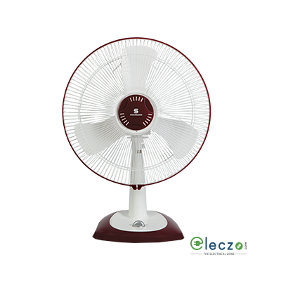 "Standard Alfa High Speed Table Fan 400 mm (16""), White"