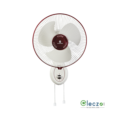 "Standard Alfa High Speed Wall Fan 400 mm (16""), White"