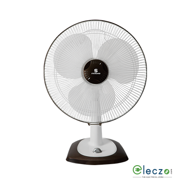 "Standard Alfa Table Fan 400 mm (16""), White"