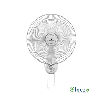 "Standard Alfa Wall Fan 300 mm (12""), White"