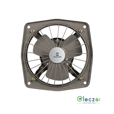 "Standard Refresh Air - SPS Exhaust Metal Ventilation Fan 150 mm (6""), Grey"