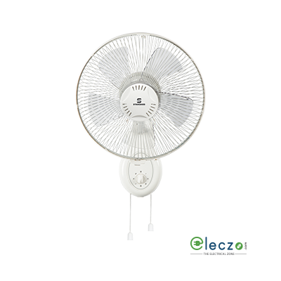 "Standard Super 5 Leaf Super Wall Fan 12, 300 mm (12""), White"