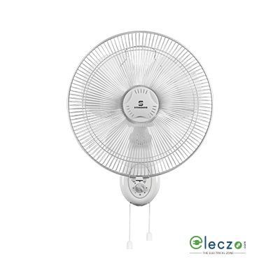 "Standard Super 5 Leaf Super Wall Fan 01, 400 mm (16""), White"