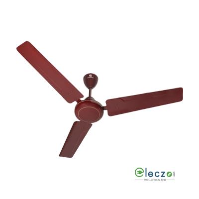 "Standard Zinger Ceiling Fan 1200 mm (48""), Brown, 3 Blade"