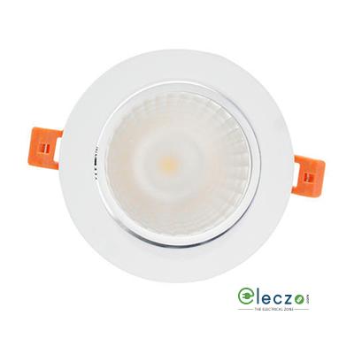 Syska LBD Series Recesses COB LED Down Light 3 W, Warm White