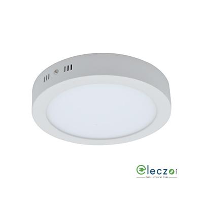 Syska LED Surface Down Light (Economy Range) 6 W, Warm White, Surface Mounted, Round
