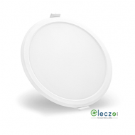 Syska RDL Series LED Slim Recessed Panel Light 15 W, Cool White, Recessed Mounted, Round