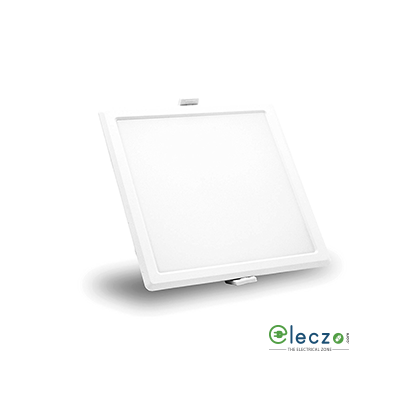 Syska RDL Series LED Slim Recessed Panel Light 5 W, Neutral White, Recessed Mounted, Square