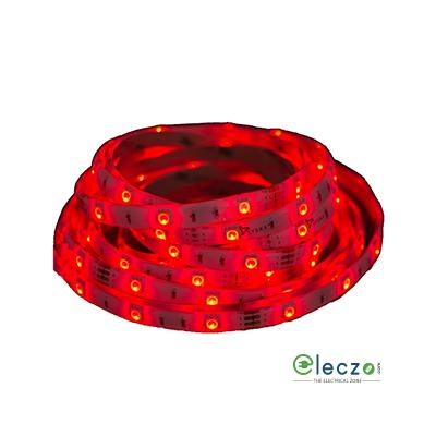 Syska LED Strip Light 3528 - IP65, Red, 5 Mtr