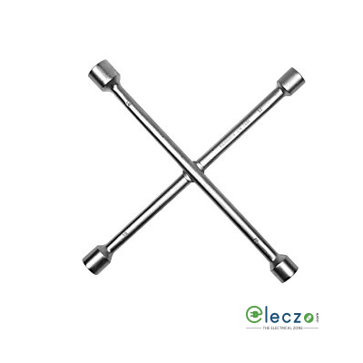 Taparia Cross Rim Wrench, 10 x 13, 11 x 14 mm A/F (Across Flated), Length 260 mm