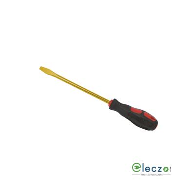 Taparia Non Sparking Slotted Screw Driver 4 mm Tip, 100 mm Length, Beryllium - Copper