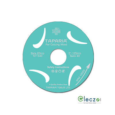 Taparia TCT Wood Cutting Blade, 110 mm Dia, 40 Teeth, 1.8 Kerf