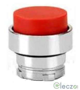 Teknic Metallic Series Momentary Push Button Actuator 22.5 mm, Red, Projecting Type