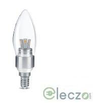 Wipro Garnet LED Candle Bulb Light 3 W, Warm White