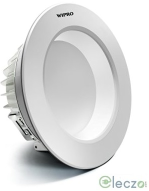 Wipro Garnet LED Down Light 16 W, Cool White, Round