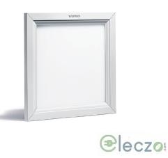 Wipro Garnet Slim Panel Light 18 W, Neutral White, Ceiling Mounted