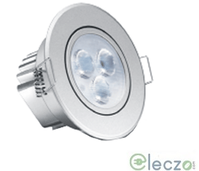 Wipro Garnet Plus LED Down Light 5 W, Cool White, Round