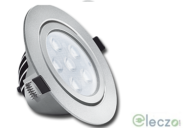 Wipro Garnet Plus LED Down Light 10 W, Warm White, Round